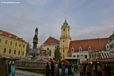 Christmas Markets: Old Town In Bratislava.  http://cherylhoward.com/2011/12/16/christmas-markets-old-town-in-bratislava/  #europe #bratislava #slovakia #travel #christmas #markets