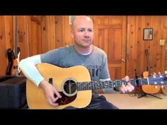 Rockville Guitar Lessons - Peaceful Easy Feeling (capo 2) Guitar Play-Along - YouTube