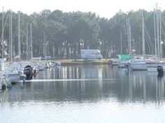 Winter on the aire at Biscarrosse is peaceful but not in high winds