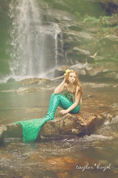I'm much happier now that I'm a mermaid.. Photography by @Sam McHardy Taylor Boyd