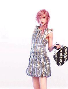 Louis Vuitton Presents Series 4: Lightning: A Virtual Heroine by Square Enix