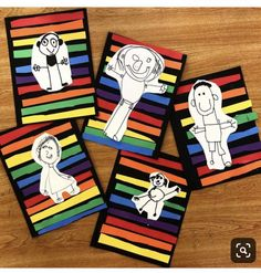 😍Kindergarten Self Portraits! ❤️🧡💛💚💙💜 These served as a little diagnostic assessment, cutting-fine motor skills- check, and color lesson! Kindergarten Self Portraits, Kindergarten Art Projects, Kindergarten Assessment, Kindergarten Checklist, True Colors Personality, Arte Elemental, Art Lessons Elementary, Preschool Art, Art Classroom