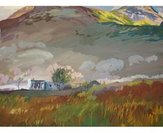 Lachlan Goudie Caravan in the Wilderness Size(HxWxD):76x102x0cm £3,500.00