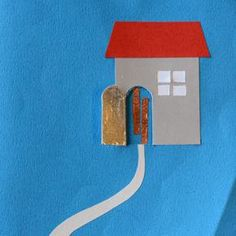 The door is a switch - paper electrical circuits can be simple or complex in STEAM projects (via the Exploratorium)