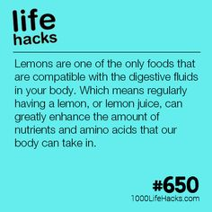 Lemons Can Improve Your Health Life Hacks) Lemons Can Improve Y. Lemons Can Improve Your Health Life Hacks) Lemons Can Improve Your Health Healthy Aging, Get Healthy, Healthy Tips, Simple Life Hacks, Useful Life Hacks, 1000 Lifehacks, Health And Wellness, Health Fitness, Tips & Tricks