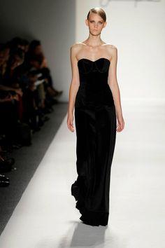 Dara Rosen - Made with Supima Corduroy Fabric Fashion Week 2011