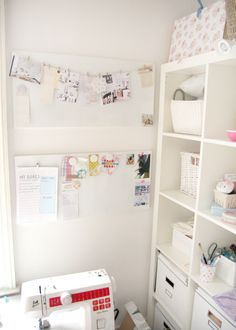My sewing corner in my craft room - craft room
