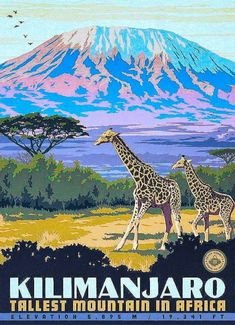 Kilimanjaro • Tallest Mountain in Africa ~ Anderson Design Group
