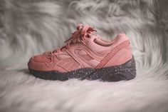 Puma R698 femme Winterized rose #sneakers beautiful