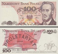 Poland Polska Polen 100 Zlotych 1986 Pick UNC, World Paper Money Currency Banknote Bill Note Energy Saving Tips, Save Energy, Saving Ideas, Belgian Congo, Nostalgia, Energy Efficient Homes, Old Money, Old Paper, Retro