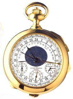 PATEK PHILIPPE calibre 89: la montre à 5'120'000 CHF (record chez Antiquorum) | Le Blog des Montres