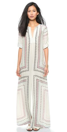 BCBGMAXAZRIA Olivia Long Tunic Dress | SHOPBOP
