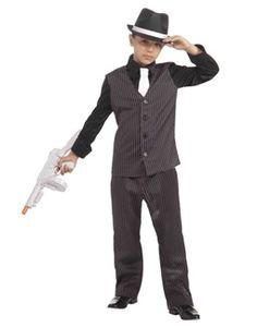 793d58b41e2 Kid s Roaring 20s Lil Gangster Costume Halloween Costumes For Girls