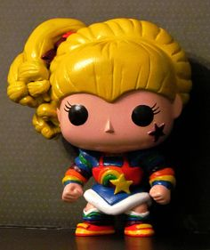 Custom Rainbow Brite Funko Pop by HouseOfMouseDesigns on Etsy