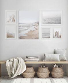 Beach Wall Decor, Coastal Wall Art, Beach House Decor, Coastal Decor, Beach Condo, Beach Home Decorating, Beach Apartment Decor, Coastal Interior, Boho Decor