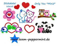 Meilensteine StickTime - Stickdatei Only You 10x10