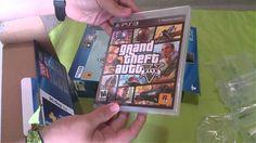 awesome Unboxing   PlayStation 3 Super Slender five hundred GB y GTA V   [AoVg]