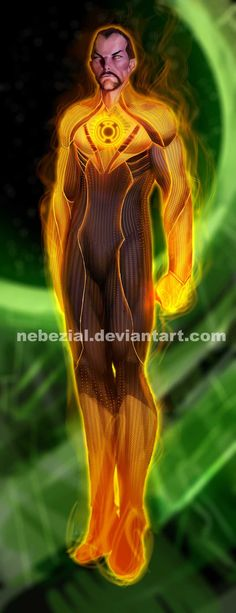 sinestro.. gotta love the oldschool villain names by *nebezial on deviantART