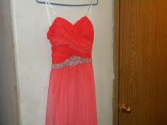 Beautiful Speechless Formal Salmon Colored Dress Size 11 #Speechless #Formalparty