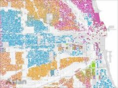 Radical Cartography example/intro ... Mapping Social Statistics - Race and Ethnicity in Chicago (Bill Rankin)
