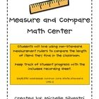 Michelle Silvestri's free Measure and Compare download on Teachers Pay Teachers includes terrific illustrated instructions for making non-standard measurement rulers!