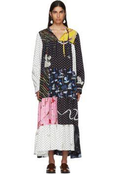 Loewe - Multicolor Paula's Ibiza Edition Patchwork Dress