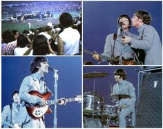 23rd August 1966. The Beatles return to New York to perform again, at Shea Stadium. The magic had long gone.