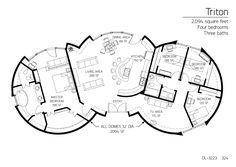 2,094 square feet Four bedrooms Three baths
