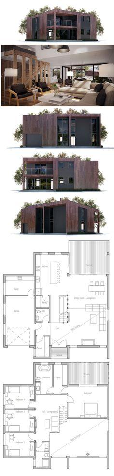 Plan De Petite Maison | Petites Maisons | Pinterest | Container