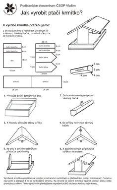Jednoduchý návod na vytvoření krmítka pro ptáky v šesti krocích.   Simple tutorial to make bird feeder in six steps. [CZECH]  www.dilna-online.cz