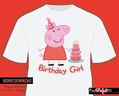 Peppa pig shirt Peppa pig tshirt iron on transfer Peppa pig