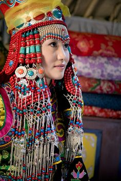 Mongol woman, I realy like it. It's so beautiful.......right :D
