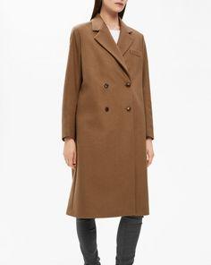 Edine Tailored Coat Army - Coats & Jackets - Shop Woman - Filippa K