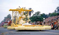 1957 Rose Parade Float