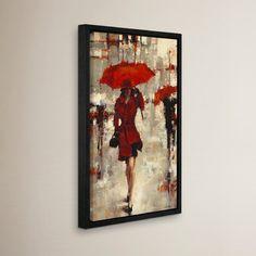 "Latitude Run Paris Invitation Framed Painting Print Size: 36"" H x 24"" W x 2"" D"