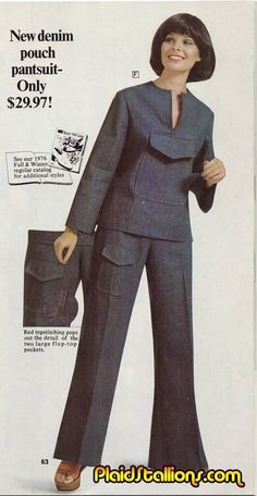 11 Outfits Of The '70s With Perfectly Reasonable Explanations....Lucy has always been mad at pockets. They're just too small, y'know? So one day, she had a thought: What if I had a shirt that just, like, had one huge pocket. Like just a big pocket. She'd been smoking a lot of weed recently.