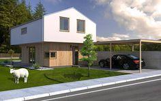 Typový dům Love od APEX ARCH s.r.o. Shed, Outdoor Structures, Outdoor Decor, Home Decor, Decoration Home, Room Decor, Home Interior Design, Barns, Sheds