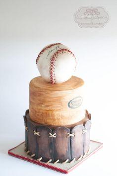 Baseball Glove Grooms Cake Decadent Desserts Pinterest