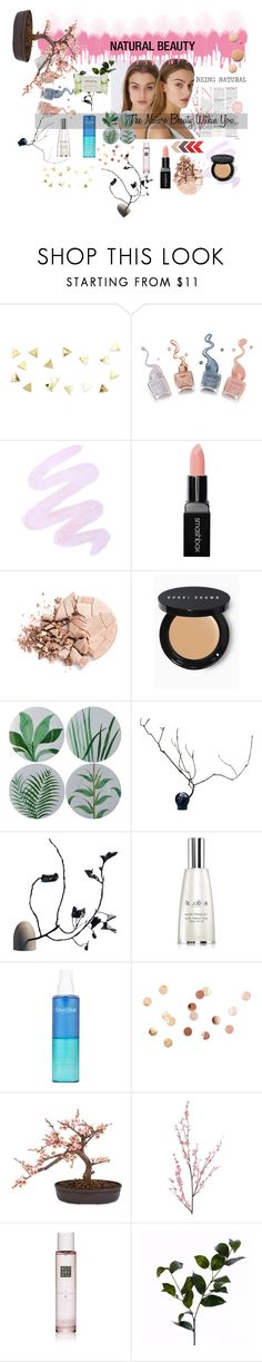 """NATURAL BEAUTY"" by thefdrug ❤ liked on Polyvore featuring beauty, Winky Lux, Smashbox, Anastasia Beverly Hills, Bobbi Brown Cosmetics, Natura Bissé, Umbra, CC, Nearly Natural and Pier 1 Imports"