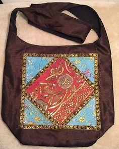 Tasche, Handtasche, Umhängetasche, Patchwork, Bollywood, Hippie, Yoga, Indian(7)