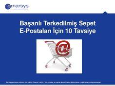 Başarılı Terkedilmiş Sepet E-postaları İçin 10 Tavsiye