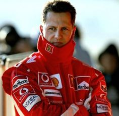 Michael Schumacher, you and your family are in our thoughts and prayers please get well soon.
