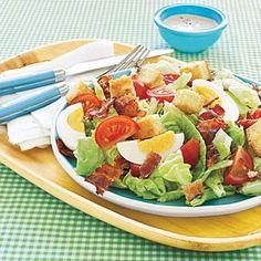 Easy weeknight dinner: BLT Salad recipe
