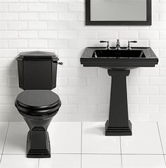 The Astoria Deco Collection from www.imperialbathroom.co.uk.Perfect for the 'small room'