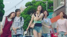 Age of Youth: Episode 7 Korean Music, Korean Drama, Queen Of The Ring, Age Of Youth, Young Park, 20 Tv, Weightlifting Fairy Kim Bok Joo, Korean Star, Dance Outfits