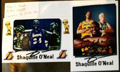 Shaquille O'Neill TTM