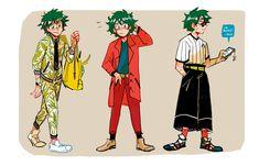 bnha boys and fashion! Boku No Hero Academia, My Hero Academia Memes, Hero Academia Characters, Fictional Characters, Fanart, Hero 6, Manga, Me Me Me Anime, Cute Art