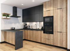 O stylu, funkcjonalności i dobrej współpracy – wywiad z projektantem Kitchen Pantry Design, Loft Kitchen, Home Decor Kitchen, Interior Design Kitchen, Home Kitchens, Modern Kitchen Interiors, Contemporary Kitchen Design, Cuisines Design, Küchen Design