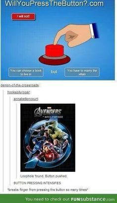 I'd press the button for Avengers, if it counted as a book, but I'm also pretty sure I could come up with a few others I'd be ok with :)