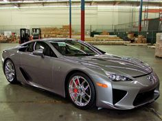 The First-Ever Steel Gray Lexus LFA Delivered in California